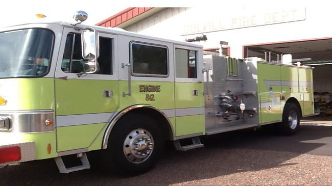 Cook County has nine volunteer fire departments Colvill's Pumper Lake Superior News