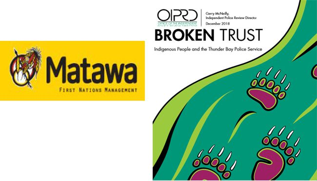 Matawa Chief Council Statement on OIPRD Report  Lake Superior News