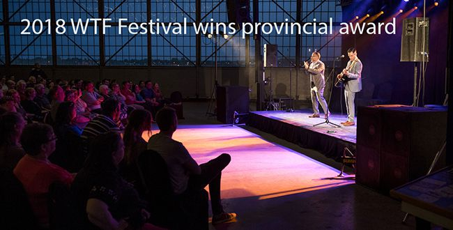 Sault's 2018 WTF Festival Wins Provincial Award  Lake Superior News