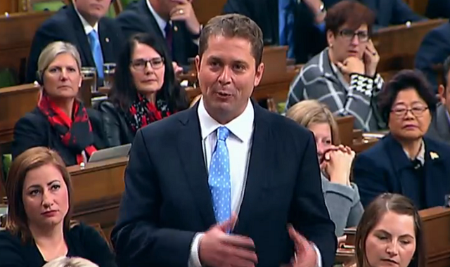 Andrew Scheer Trudeau For Demonizing Canadians Worried About Illegal Border Crossing Lake Superior News