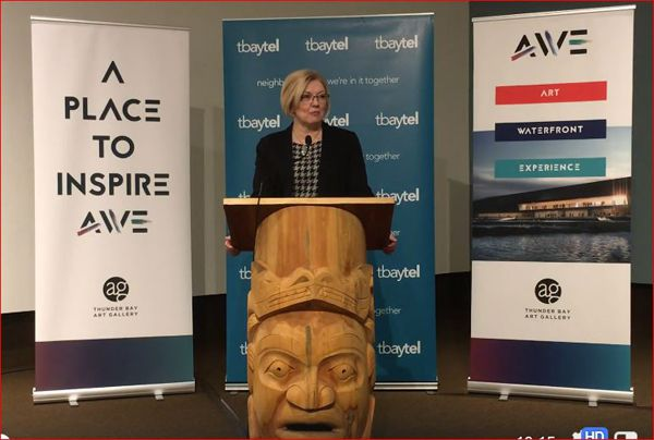Thunder Bay Art Gallery Federal Announcement   Lake Superior News