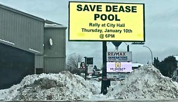 Save Dease Pool   ~  Lake Superior News