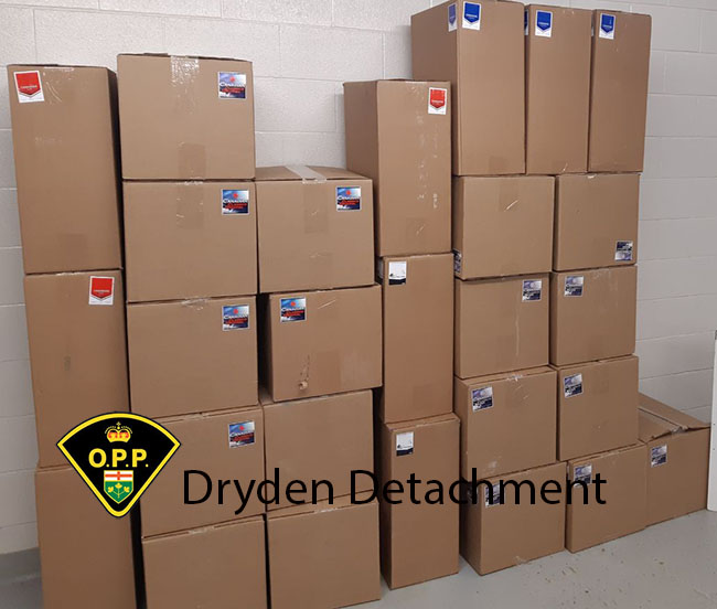 ILLEGAL TOBACCO SEIZED IN DRYDEN  Lakje Superior News