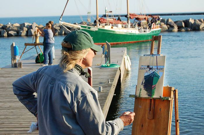 Plein Air Grand Marais Lake Superior News