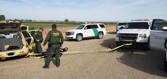 Border Patrol use ELC Grappler