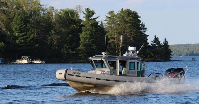 CBP Boat  Lake Superior News