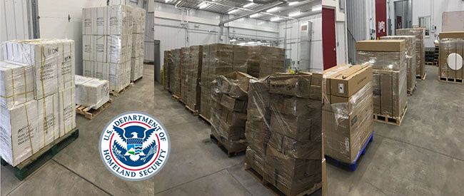 CBP Officers Seize Counterfeit Products  From Canada   Lake Superior News
