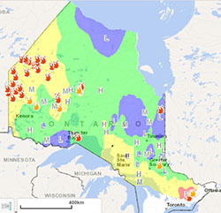 Ontario Fire Rating Aug 2rd  Lake Superior News