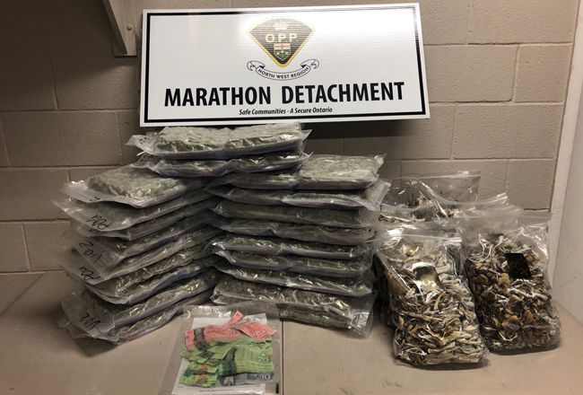 Marathon, OPP  Drug Charges   Lake Superior News
