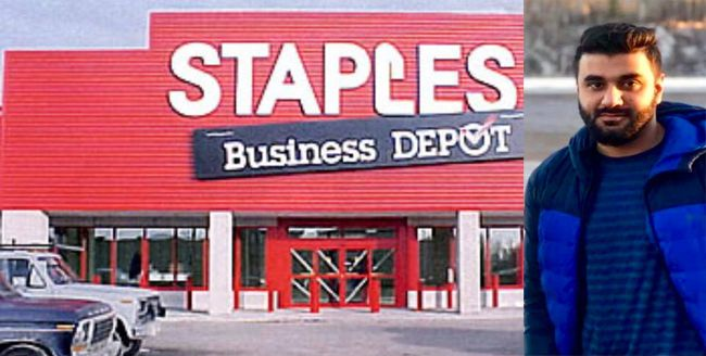 STAPLES ELECTRONICS RMAAN ABROL  Lake Superior News