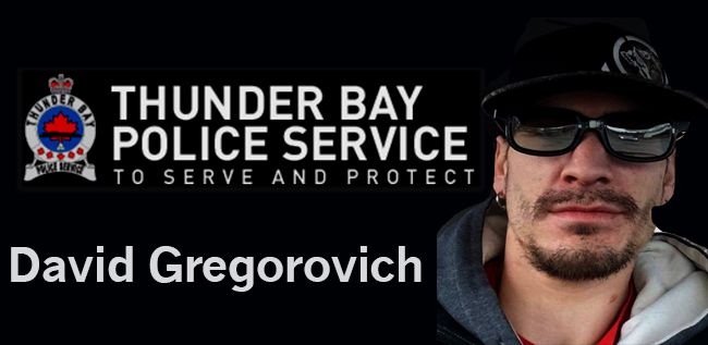 Thunder Bay Police David Gregorovich   Lake Superior News