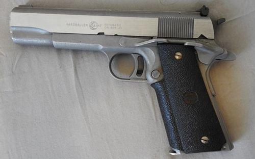 Thunder Bay Police Service Seized hand gun   Lake Superior News