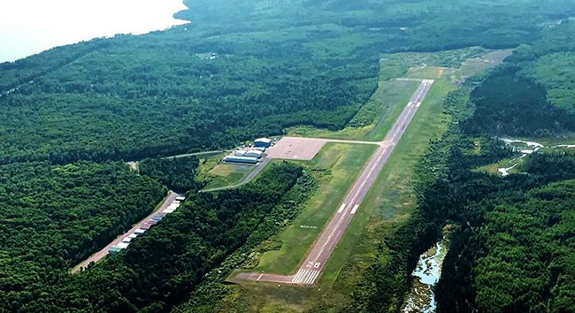 Cook County Grand Marais  Runway Lake Superior News