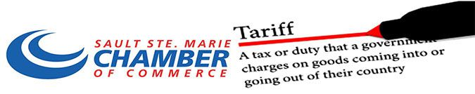 Soo Chamber of Commerce  Trade Steel Tariffs