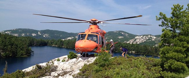 Ornge  Ontario Air Ambulance  Lake Superior News