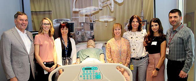 Thunder Bay Regional Hospital  Ibn Sina Simulation Lab  Lake Superior New