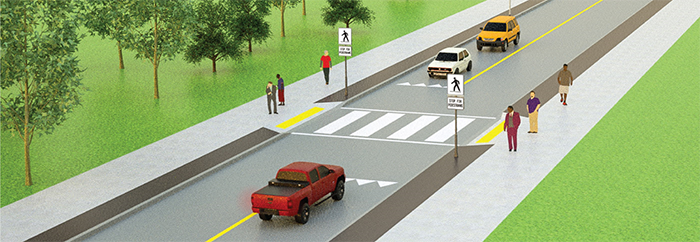 Simpson Street Cross Walk    Lake Superior News