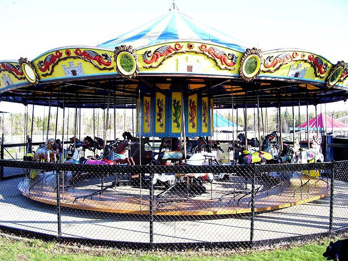 Chippewa Park 102-year-old C.W. Parker Carousel