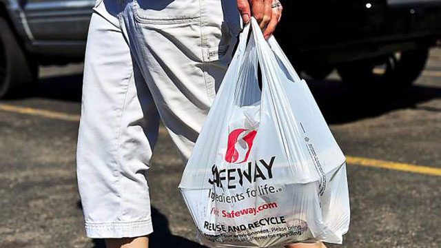 Safeway  plastic shopping bags are highly reused     Lake Supeiror News