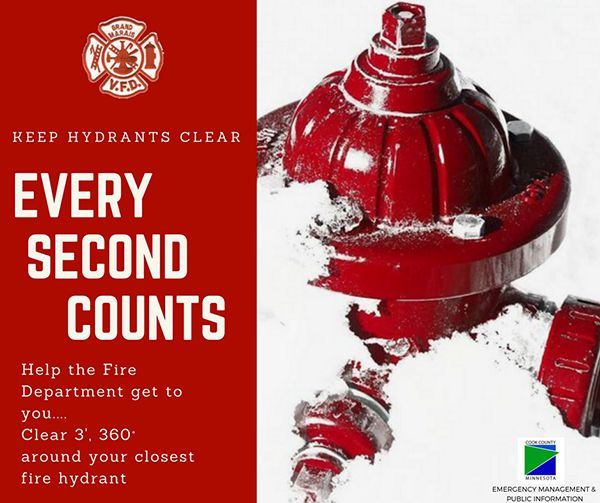 Cook County  Keep Hydrants clear of Snow  Lake Superior News