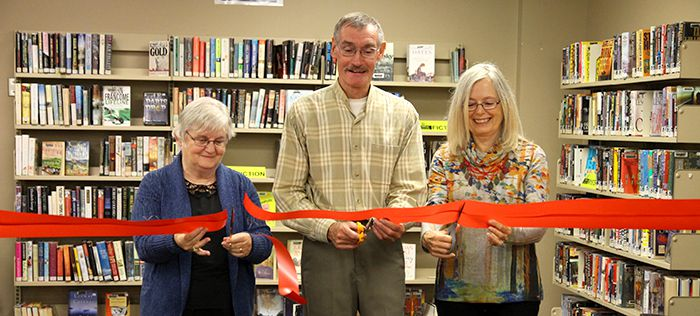 Book Nook Official Open  Waverley Library   Lake Superior News