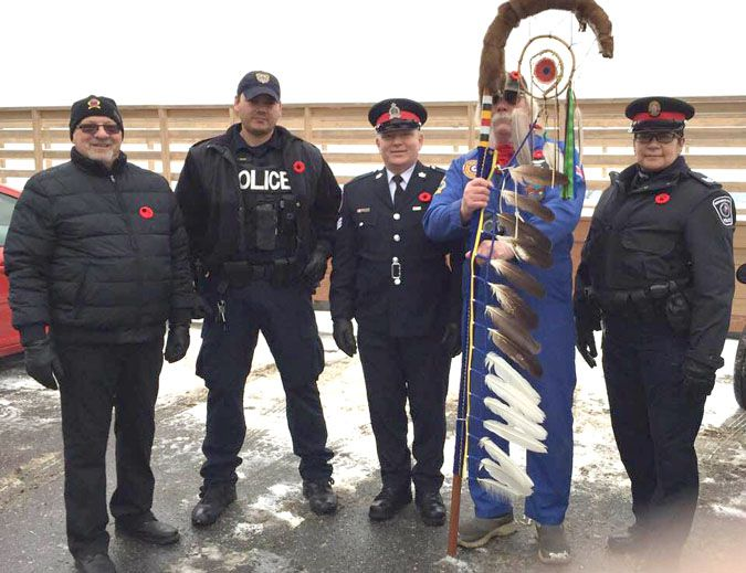 Eagle Staff  Fort William First Nation  Lake Superior News
