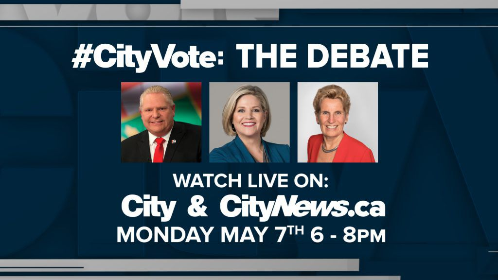 Ontario Election Debate May 7th