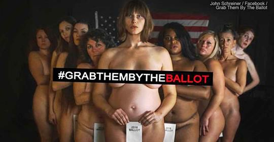 Nude photo shoot tells women  Grab them by the Ballot  Lake Superior News
