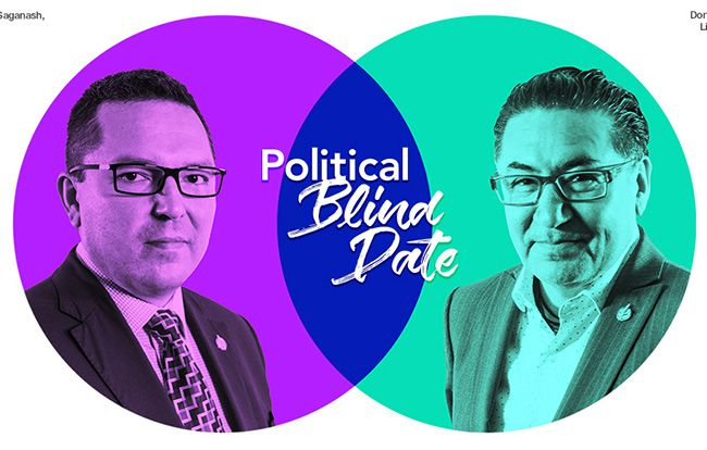 TVO  Political Blind Date  Don Rusnak and Romeo Saganash  Lake Superior