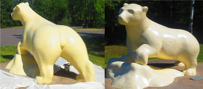 Chippewa Park Bear  All Dressed up  Lake Superior News