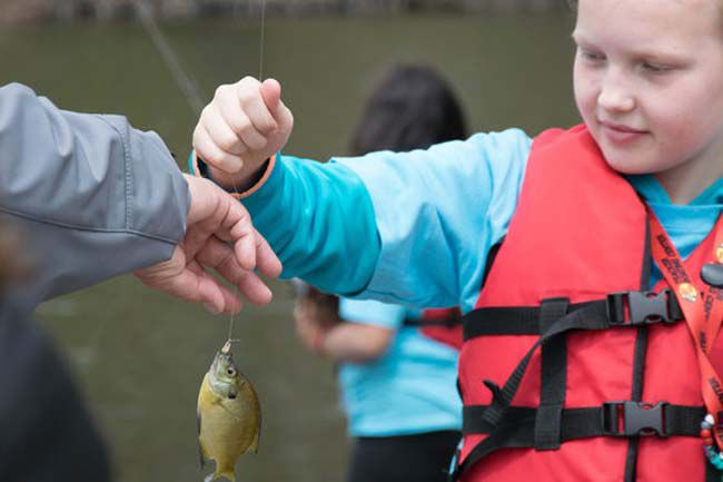 Take a Kid Fishing Weekend Minnesota  Lake Superior News