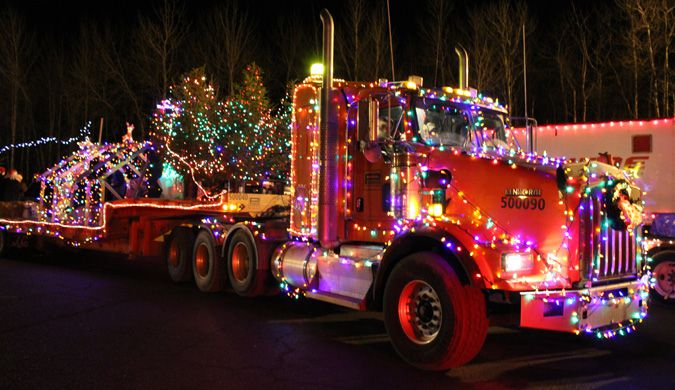 Parade Of lights truck   Lake Superior News