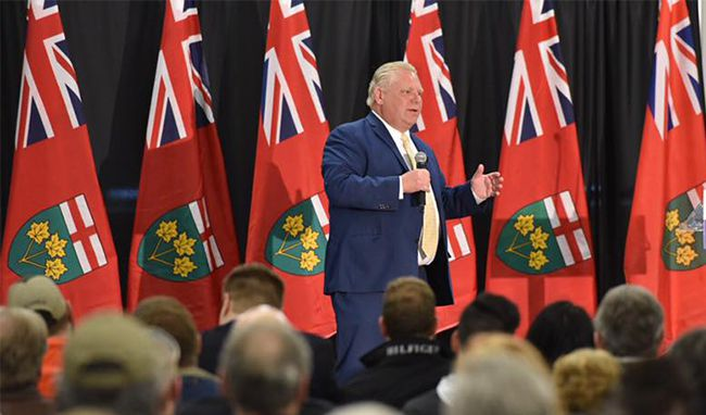 Ford Speaking at Thunder Bay Rally  Lake Superior News