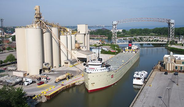 Cement Ship   Lake Superior News