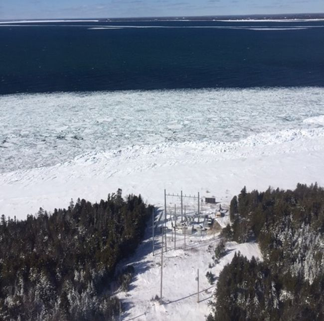 Straits of Mackinac  Spill  Lake Superior News