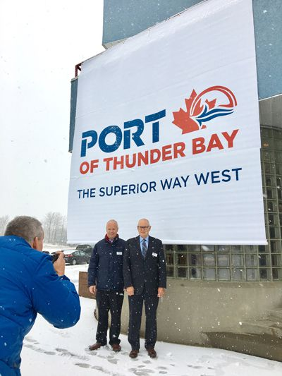 Port of Thunder Bay New Brand   Lake Superior News