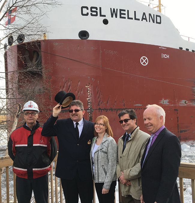 M.V. CSL Welland    Lake Superior News