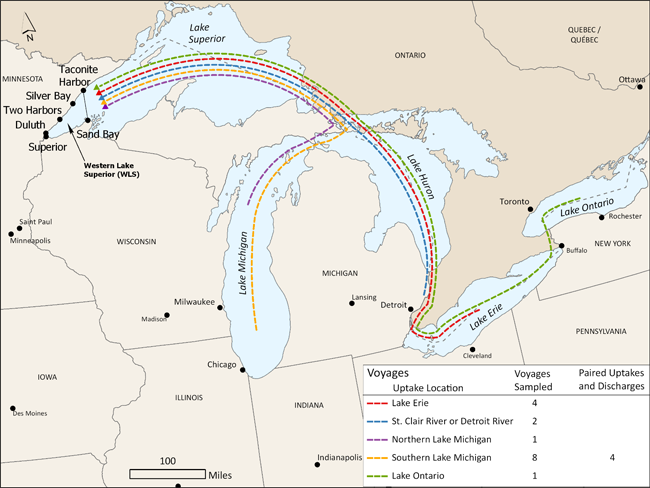 Great Lakes Ballast Water  Lake Superior News
