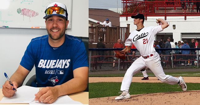 Border Cats sign with Majors Alex Nolan Brandon Williamson   Lake Superior News