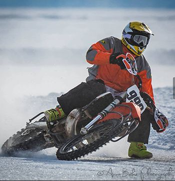Ice Racing Lakeview Lodge  Lake Superior News