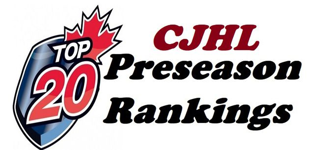 CJHL announces its 2018-19 Top 20 preseason rankings Lake Superior News