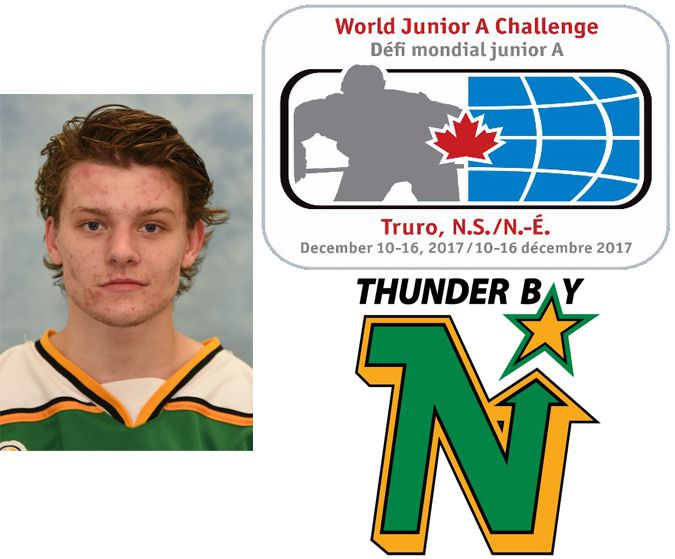 Thunder Bay North Stars Keighan Gerrie  SIJHL  Lake Superior News