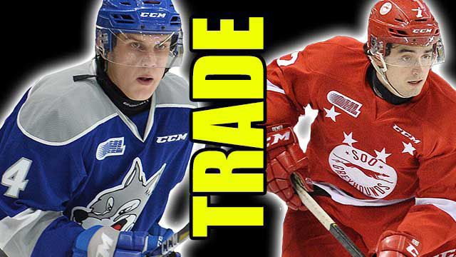 DREW WAWROW  ANTHONY DEMEO Soo Greyhounds  Lake Superior News