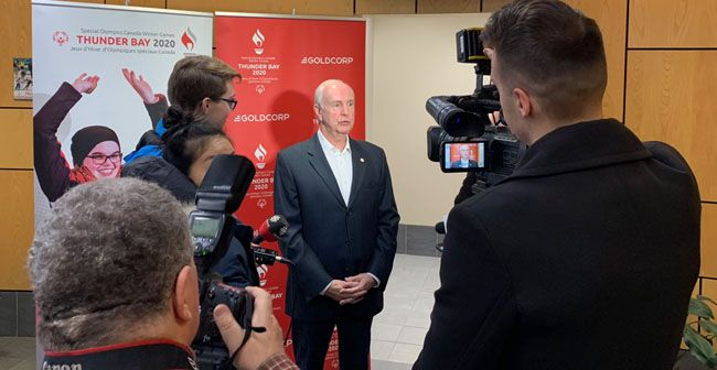 Media Conferance Special Olympics Canada Winter Games  Lake Superior News