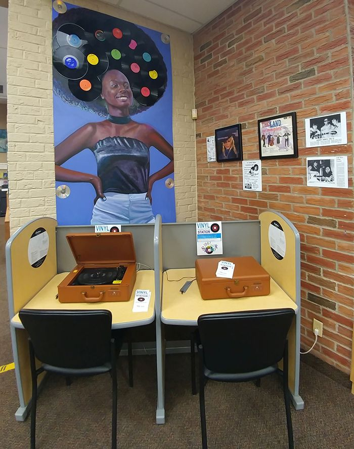 Library Adds Vinyl Listening Stations  Lake Superior News