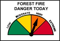 Northwest Region Fire Hazard High Lake Superior News