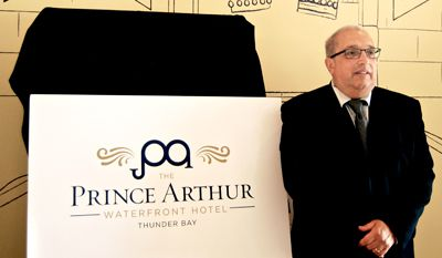 General Manager, Tony Scarcello Prince Arthur Waterfront Hotel     Lake Superior News