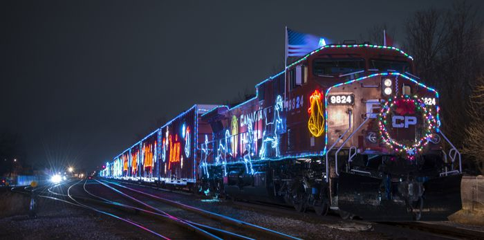 CP Holiday Train   Lake superior News