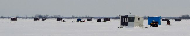 Lake Mille Lacs winter anglers   Lake Superior News