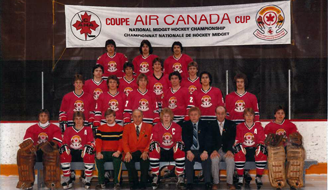 1982-83 Andrews midgets 1st local side to medal at event  Lake Superior News